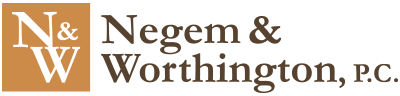 Negem & Worthington, P.C. Header Logo